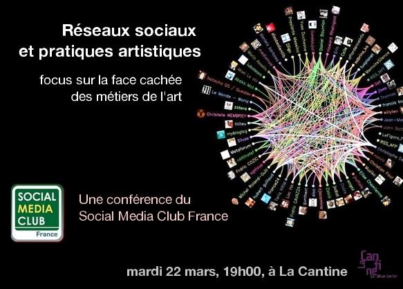 SMC France Réseaux sociaux et pratiques artistiques